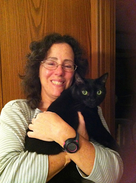 Celebrating Black Cats in October - Donna's Black Beauty at CatFaeries.com