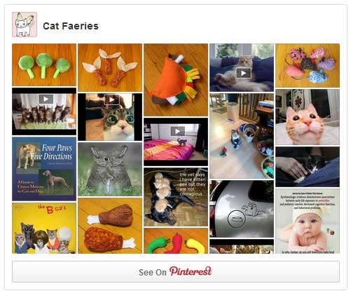 Cat Faeries is Now on Pinterest